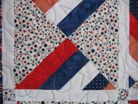 Judy's Patriotic Lap Quilt