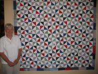 Glenna's Pinwheel Quilt