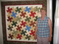 Shirley's Christmas Quilt