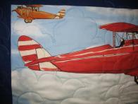 Sherri's Airplane Quilt