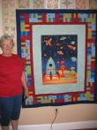 Rochelle's Outerspace Quilt