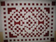 Judy's Red and White Quilt