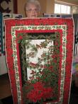 Pat's Christmas Panel Quilt