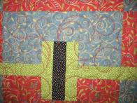 Gayle's Swirling Quilt
