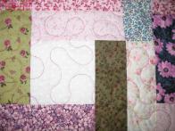 Brenda's Scrappy Floral Quilt