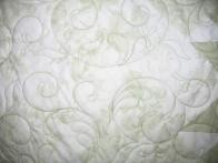 Gracie's Pastel Green and White Quilt