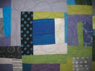 Liz's Artistic Scrappy Quilt
