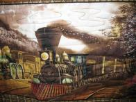 Norma's Train Quilt