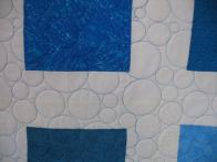 Donna's Blue and White Quilt