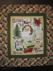 Donna's Christmas Santa Panel Quilt
