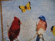 Gracie's Bird Quilt