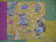 Pat's Baby Bear Quilt