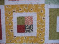 Patty's Scrappy Squares and 4-Patch Quilt