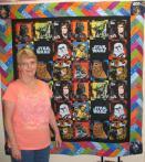 Shirley Star Wars Quilt