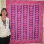 Roxanna's Flying Geese Quilt