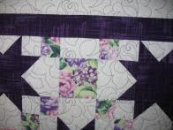 Patti's Purple Star Quilt