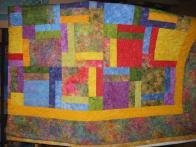 Loretta's Batik Quilt