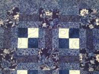 Marjorie's Delft Blue Table Runner